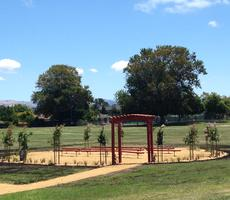 <p>Hughes&#39; New Outdoor Classroom.&nbsp; Thank you 49ers Foundation!&nbsp;</p>